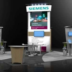 20x20 exhibition stand @ Money 2020, Las Vegas