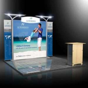 10x10 Exhibition Display