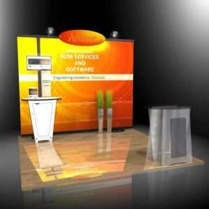 10x10 Trade show Booth Displays