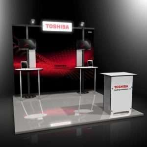 10ft tradeshow booth