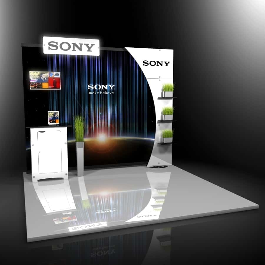 10x10 Trade Show Display Booth