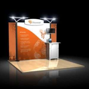 10ft Exhibition Booth