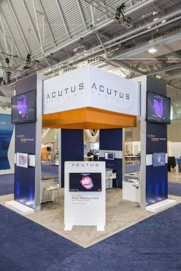 Acutus Medical booth @ Heart Rhythm Society