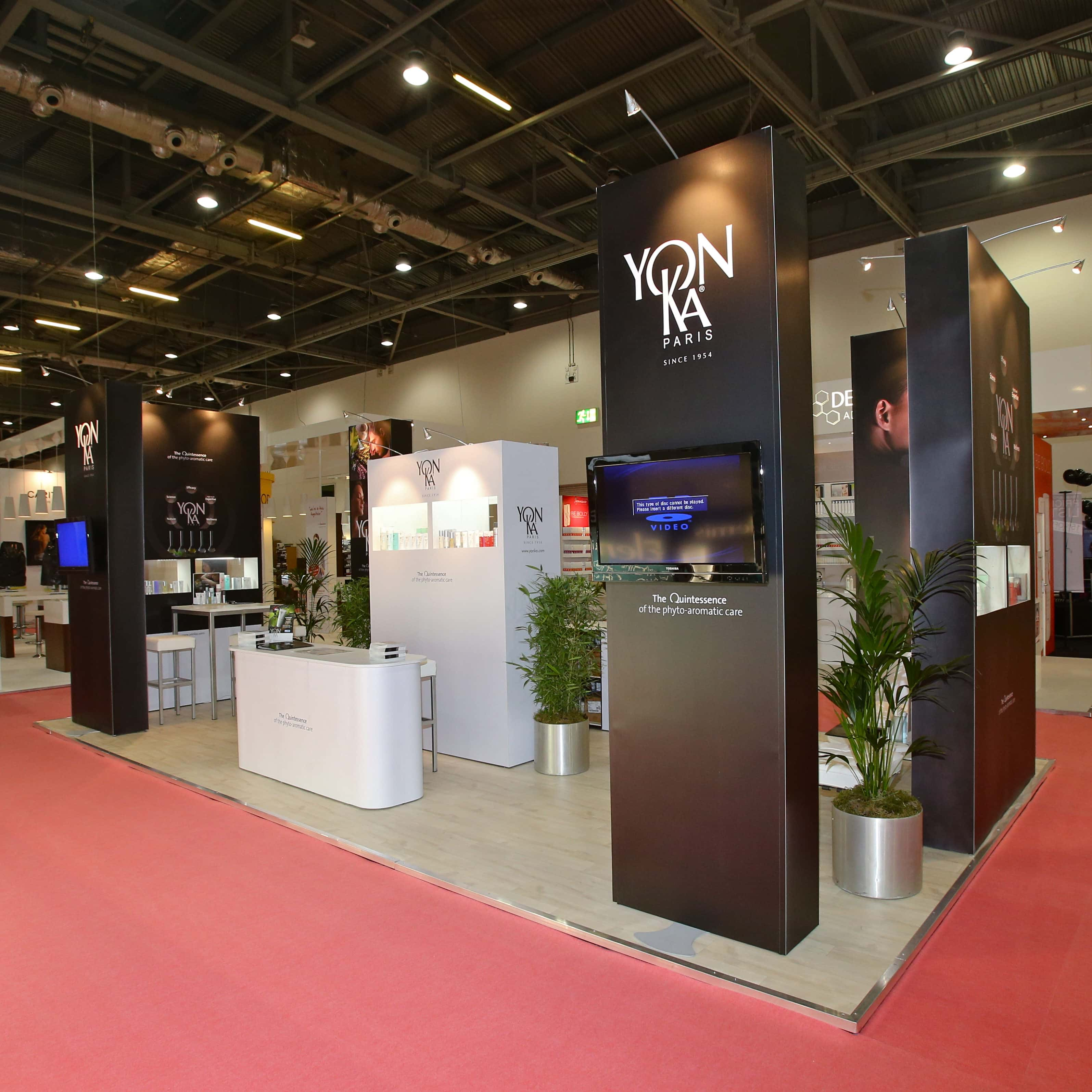 Exhibition Stand On Rent : Trade show booth rental and exhibition stands for aua