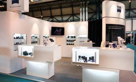Exhibition stand design service in San diego