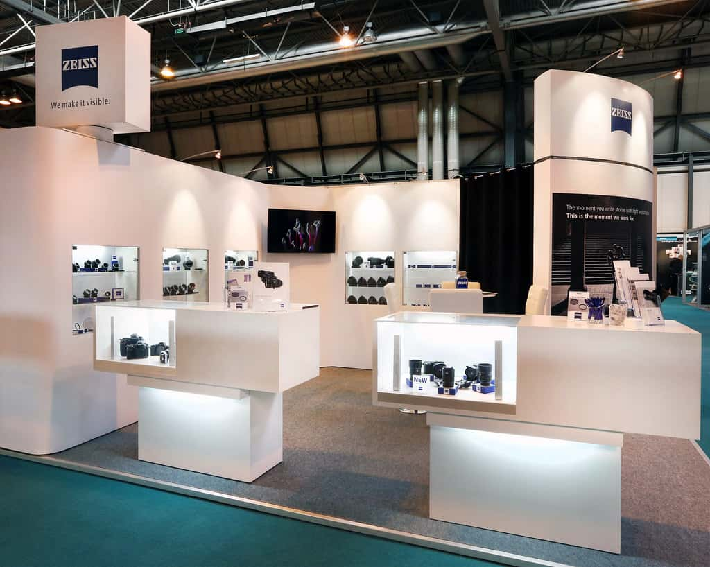 Exhibition Stand Design And Construction Service For Light
