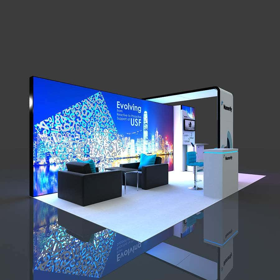 Exhibition Booth Quotation : Rent trade show booth and exhibits exponents