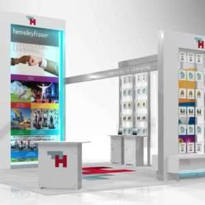20x20 trade show rental booth