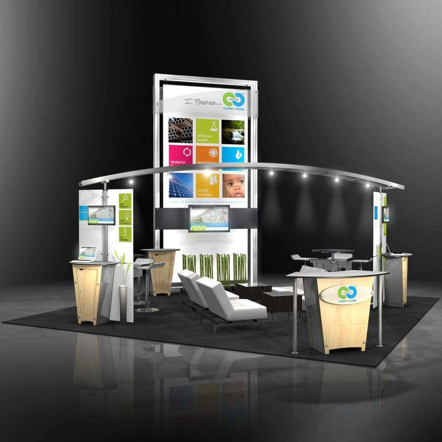 Custom Exhibition Stand Questions : Trade show booth displays and exhibits