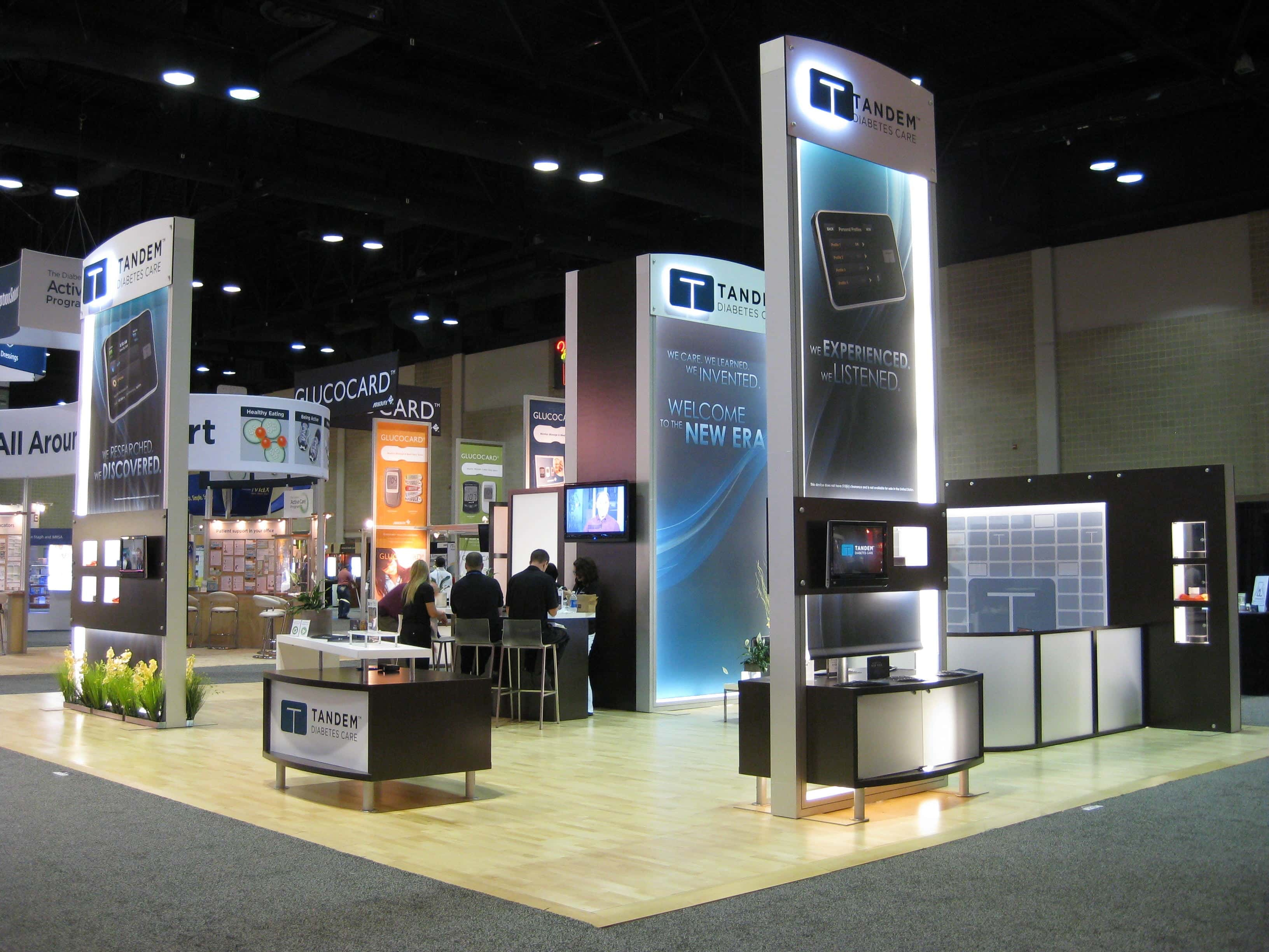Exhibition Booth Hire : Trade show booths i displays turnkey exhibit rentals