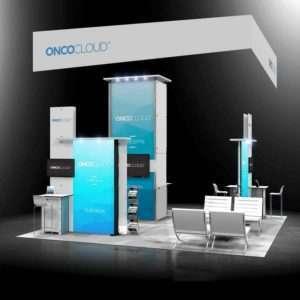 Custom exhibition stand chicago