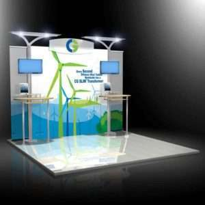 Modular display available for rent in san diego