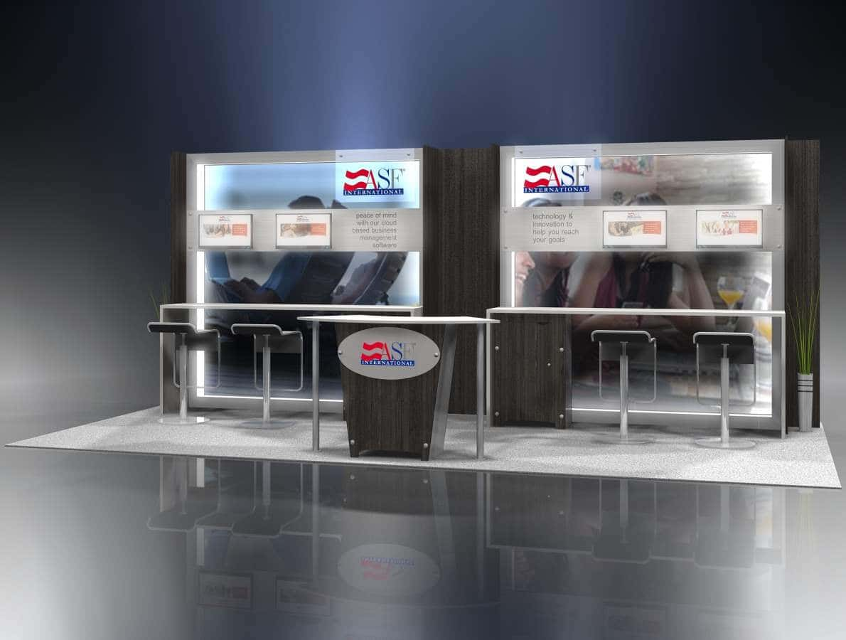 10x20 exhibition stand hire
