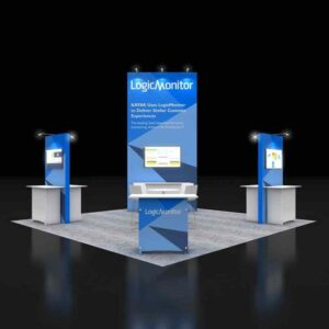 surprise your attendees with supreme 20x20 booth rentals by Exponents