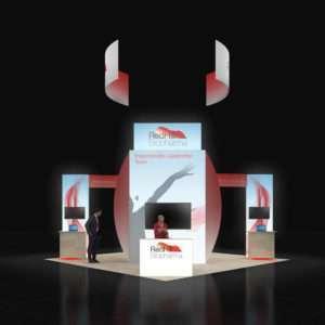 20x20 Trade Show Display Rentals