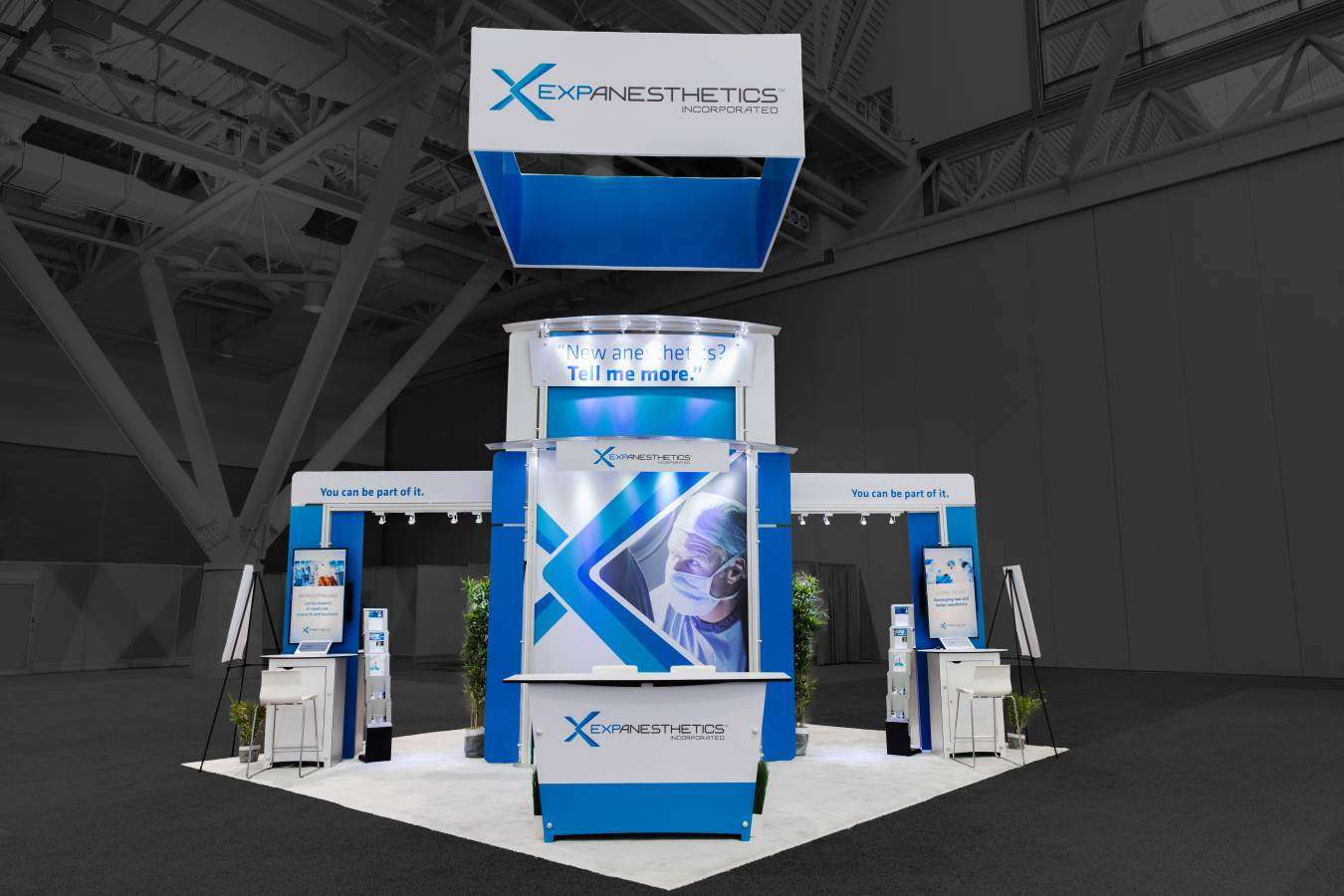 20x20 Rental Booth for conference in Boston