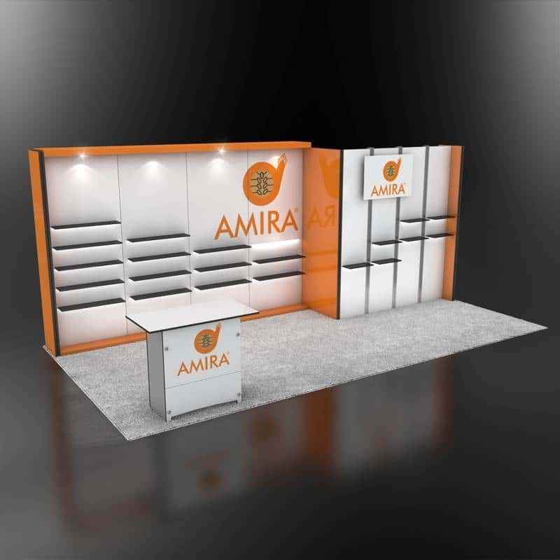 10x20 trade show display