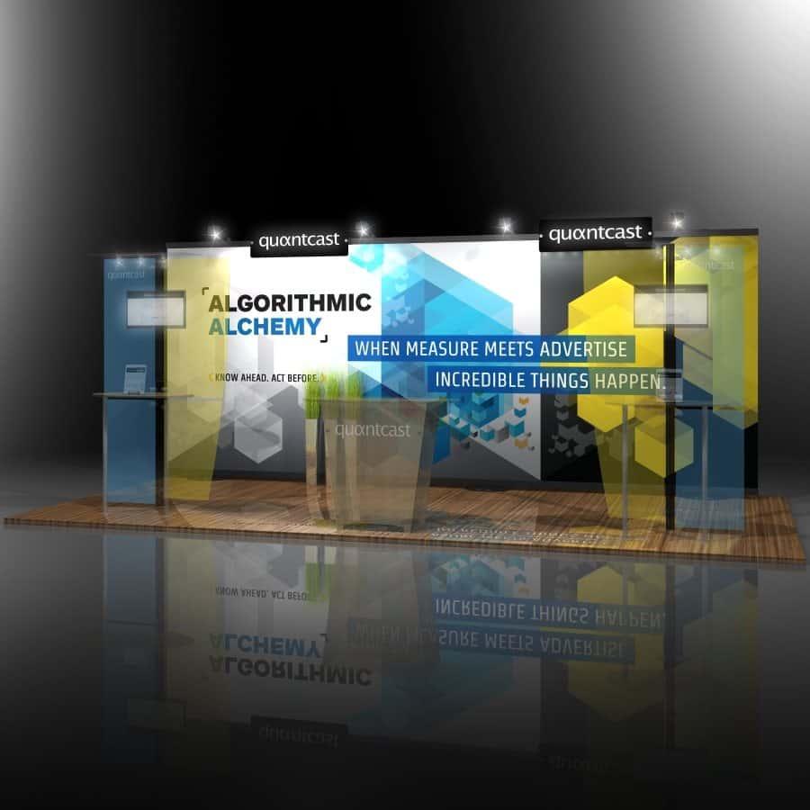 custom trade show display rentals