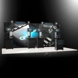 trade show displays for rent