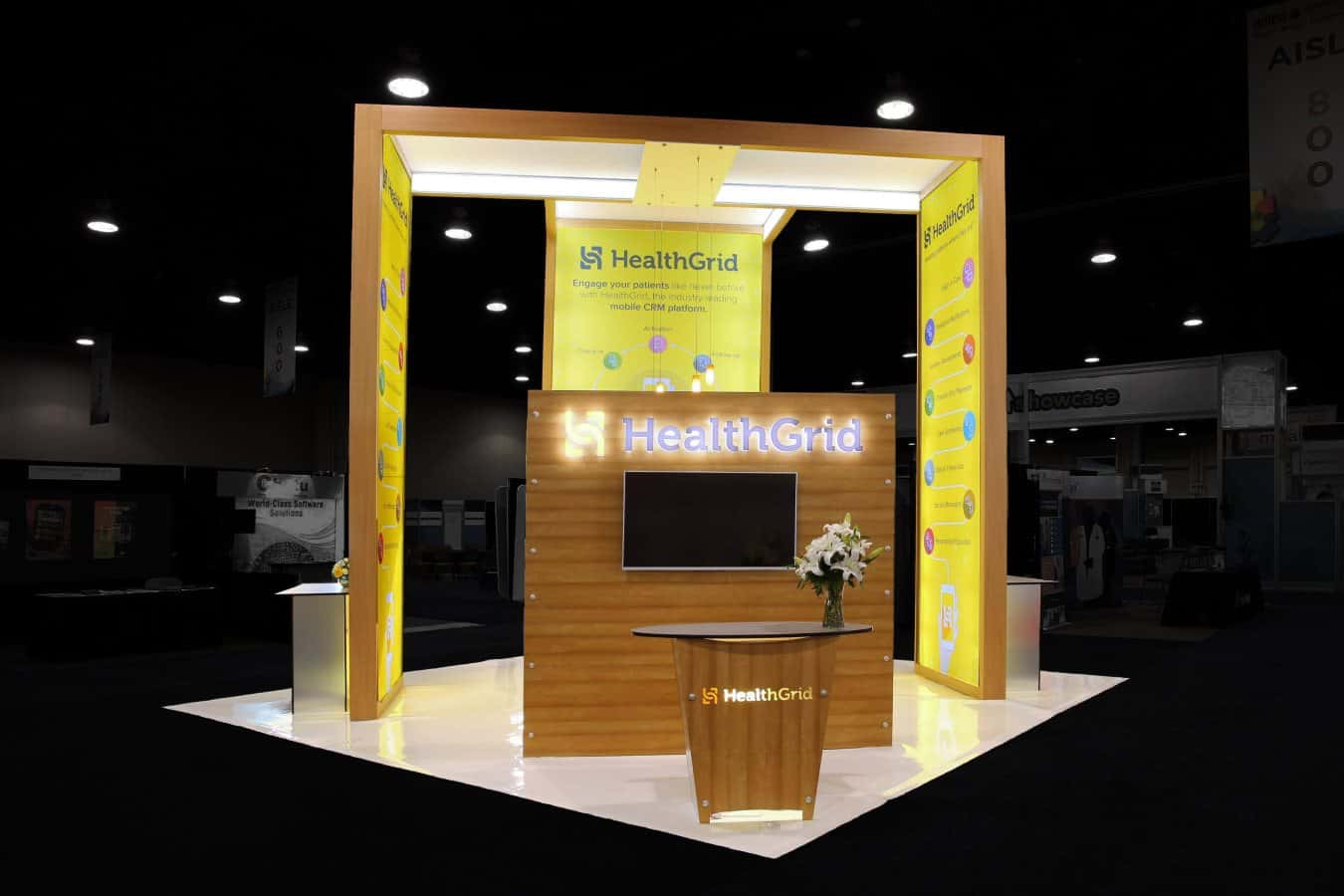 Exhibition Stand Hire Cambridge : Our work creative trade show displays