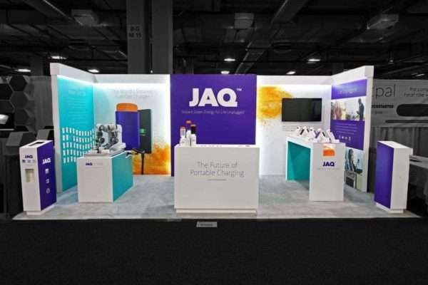 Custom Exhibition Stand At CES Las Vegas