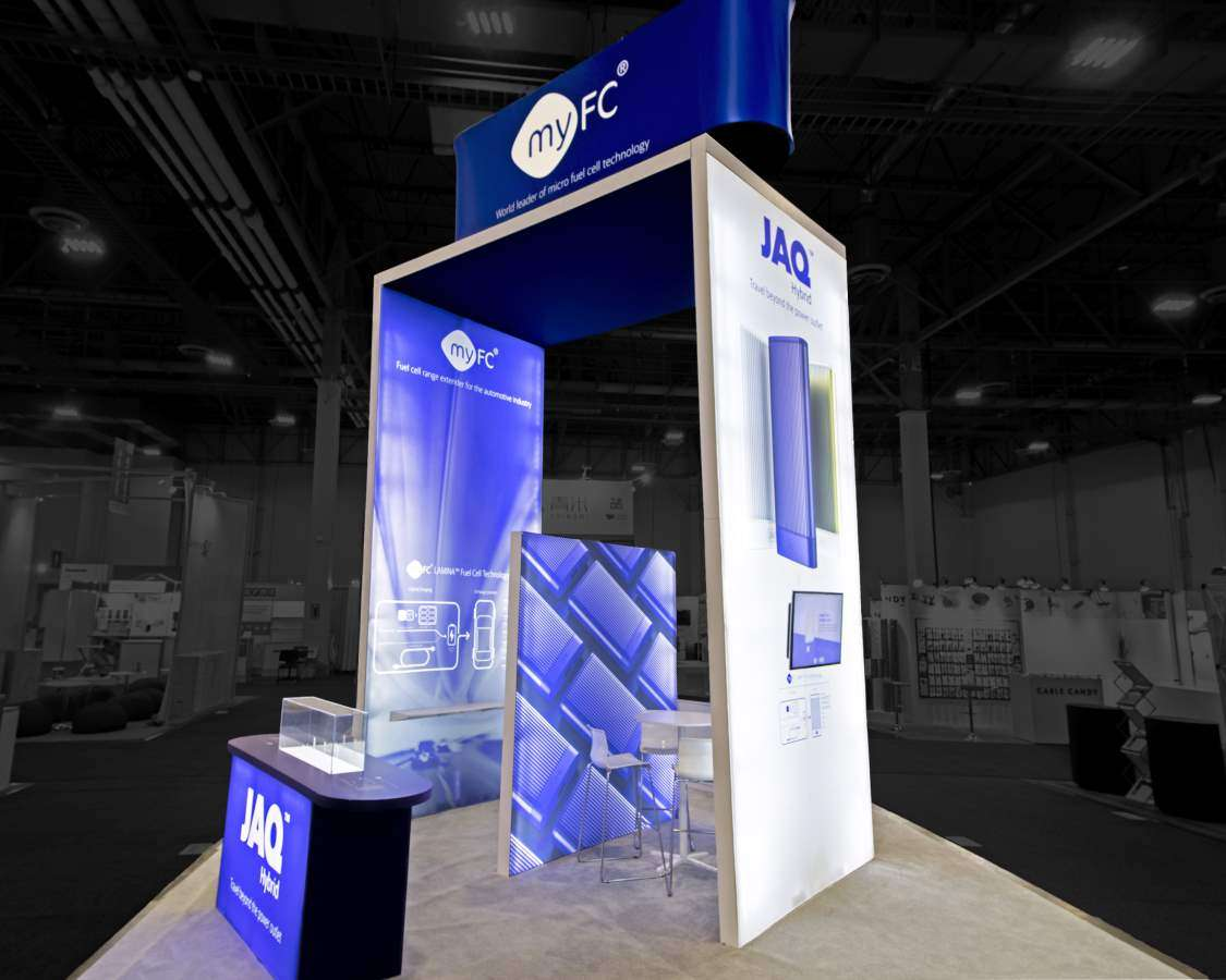 20x20 Custom Rental Booth at CES