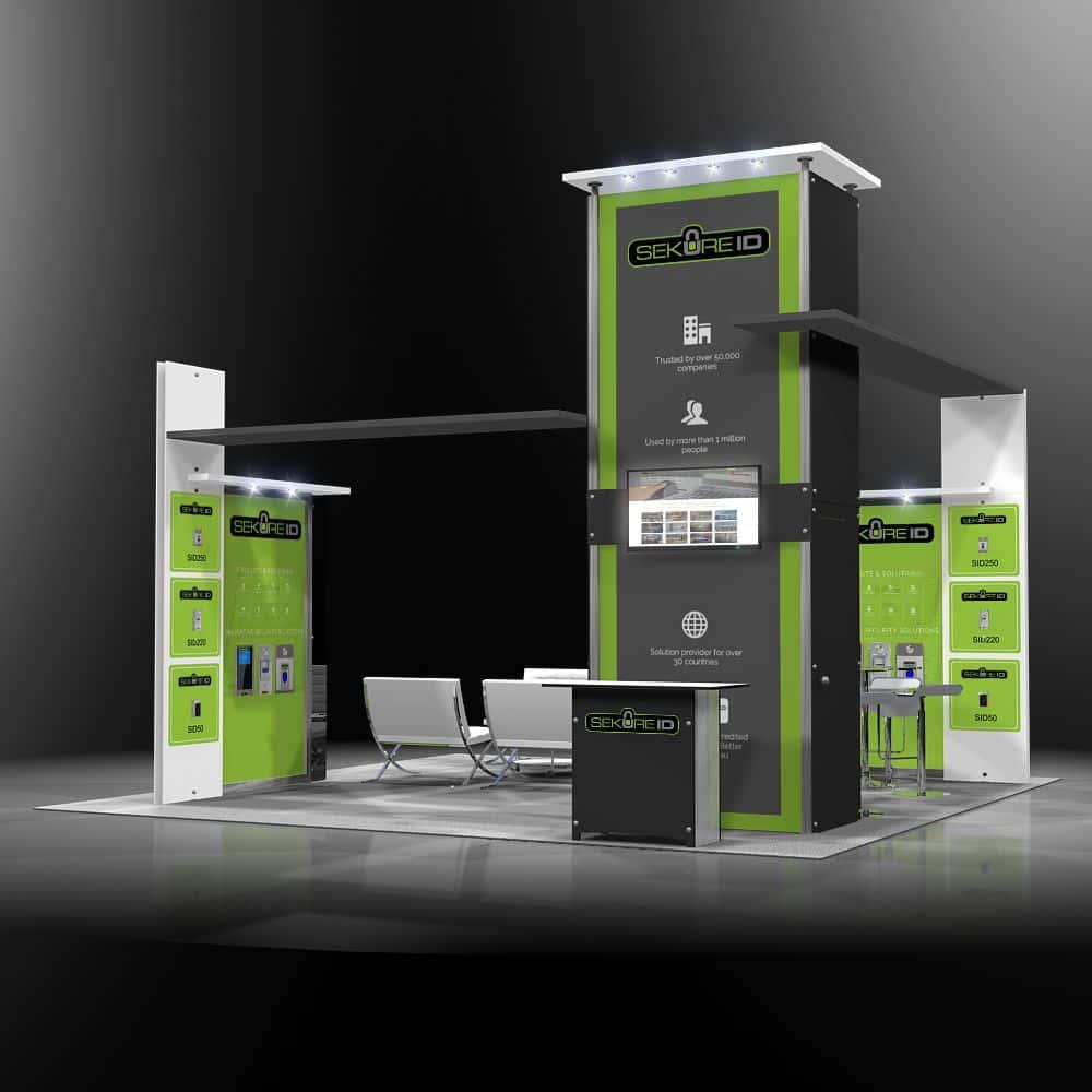 custom rental booth in anaheim