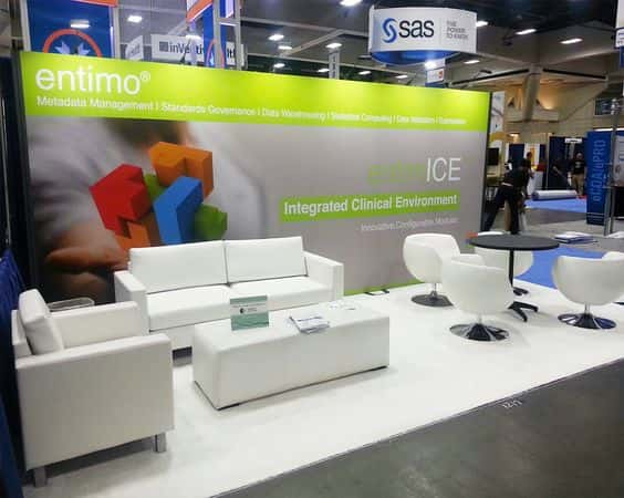 Entimo Ag 10x20 booth @ Disease Week , San Diego