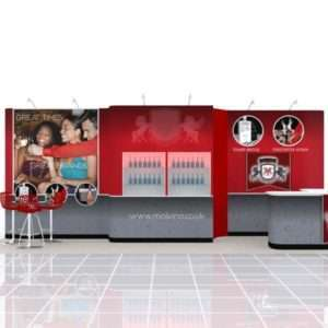 10x20 rental exhibit display