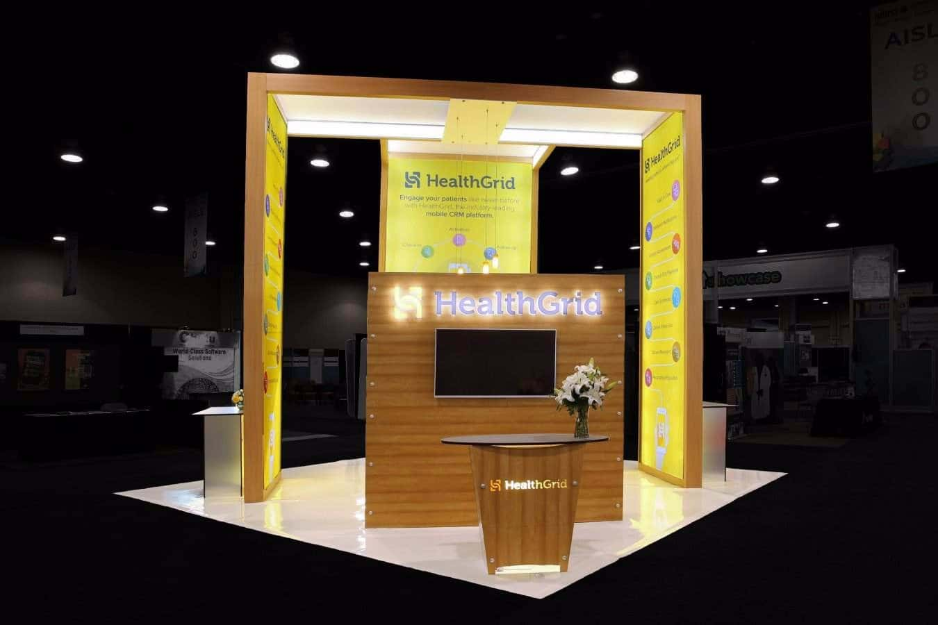 exhibition booth display