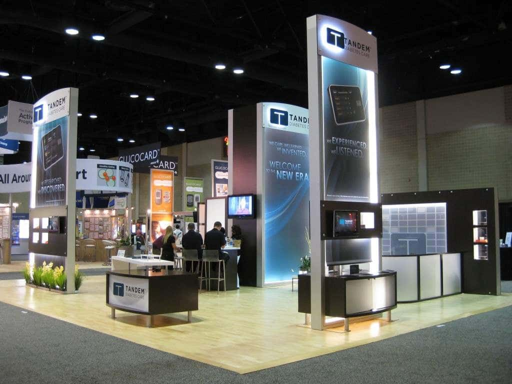 trade show displays solutions event exhibits tradeshow