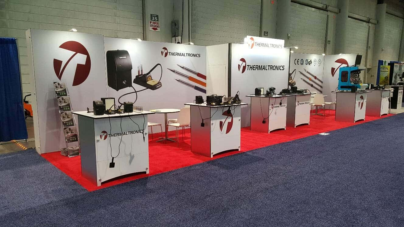 10x40 exhibition stand @ IPC Apex expo, las vegas