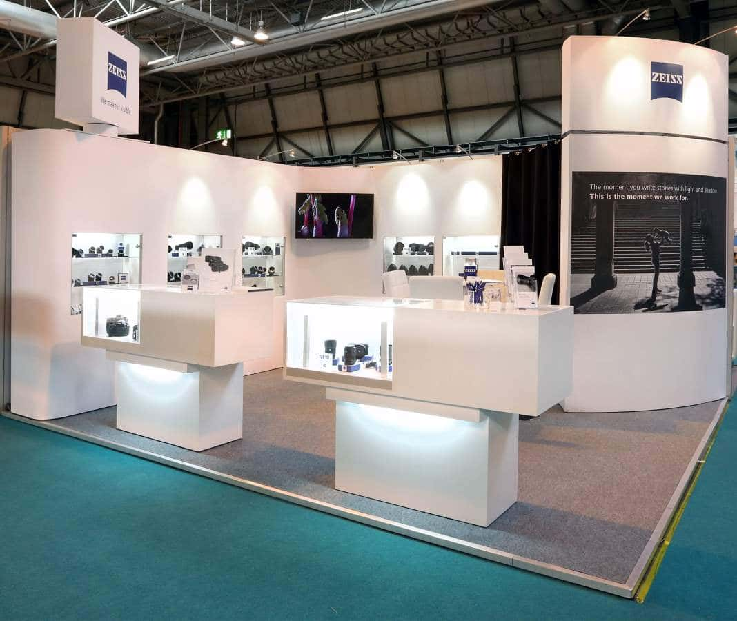 custom trade show exhibit