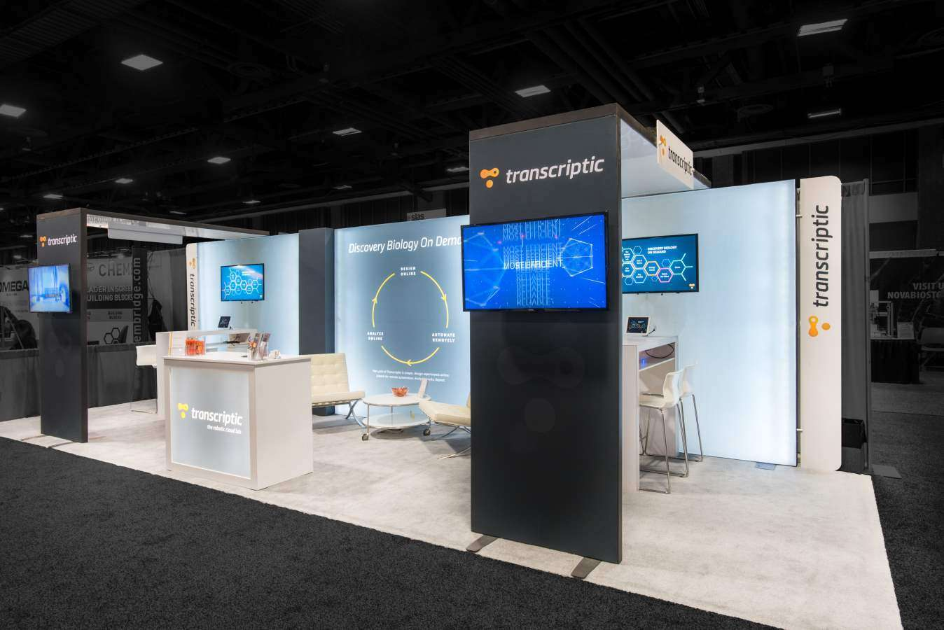 10x30 rental booth @ Slas, Washington D.C