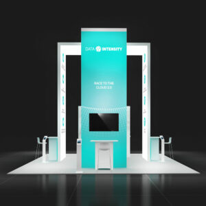 Capitalized on the market in Las Vegas with remarkable 20x20 rental booth