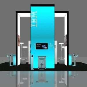 30x30 expo trade show displays