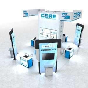 modular booth design