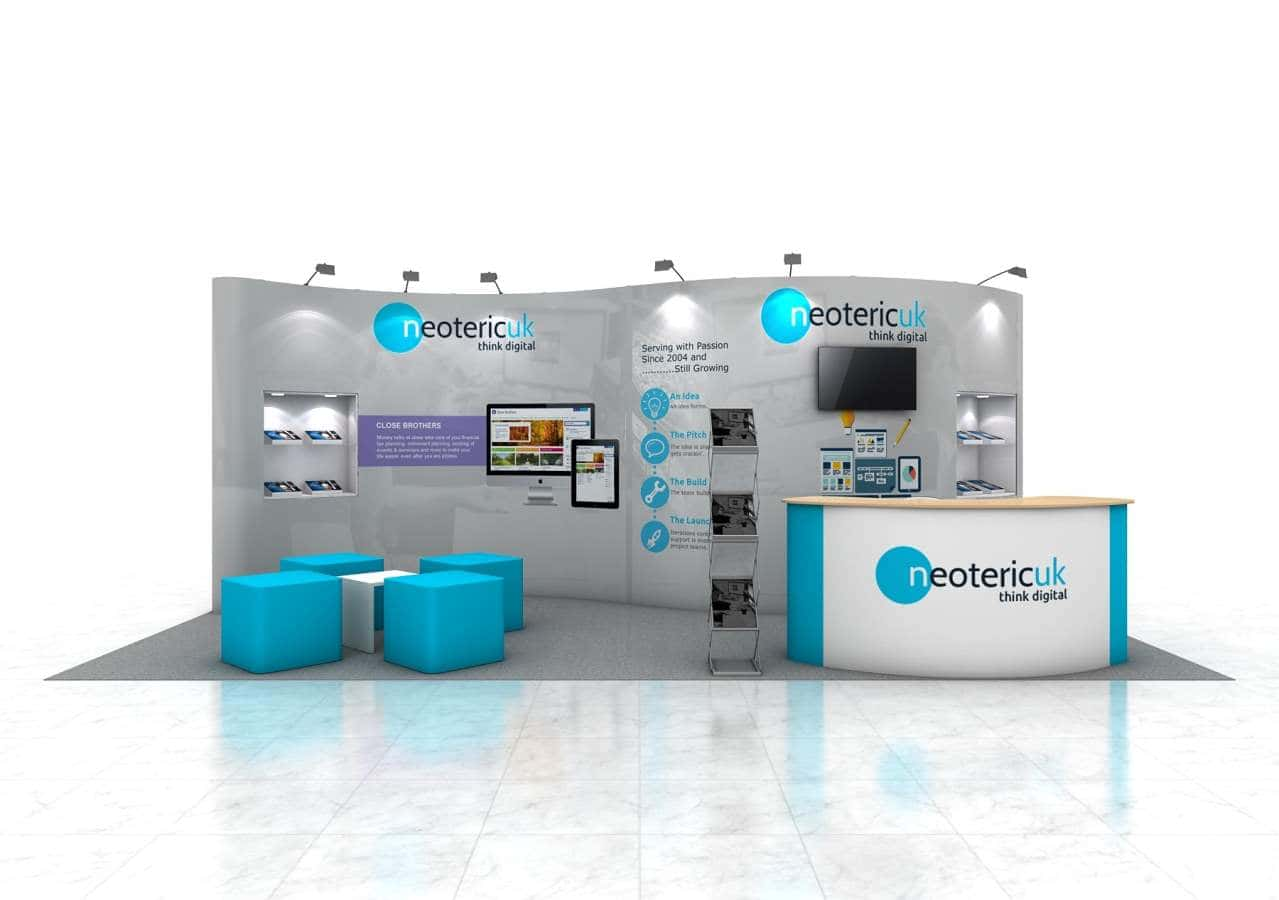10 x 20 trade show booth