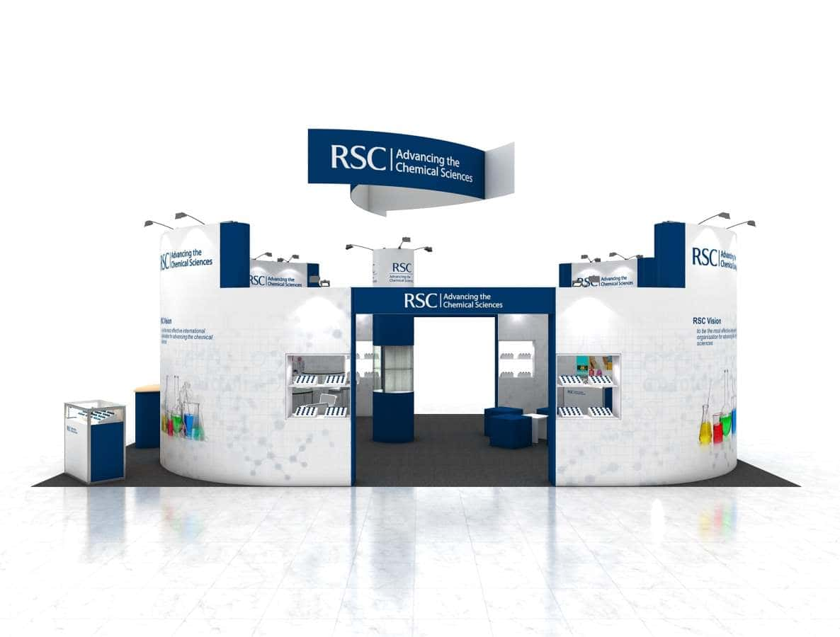 exhibit and trade show display