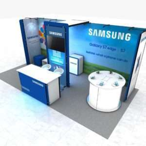 10x20 rental booth for trade shows