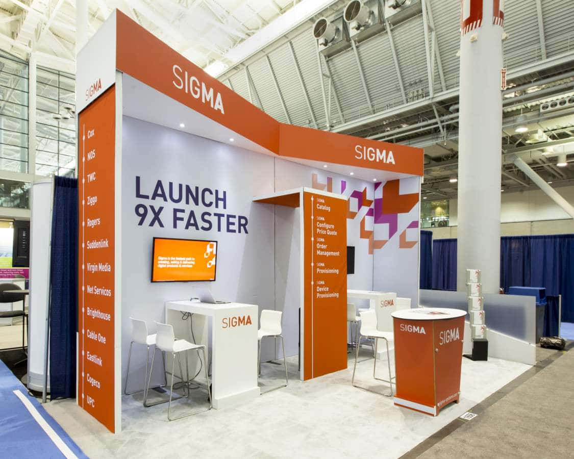 10x20 Trade Show Rental Booth INTX Boston