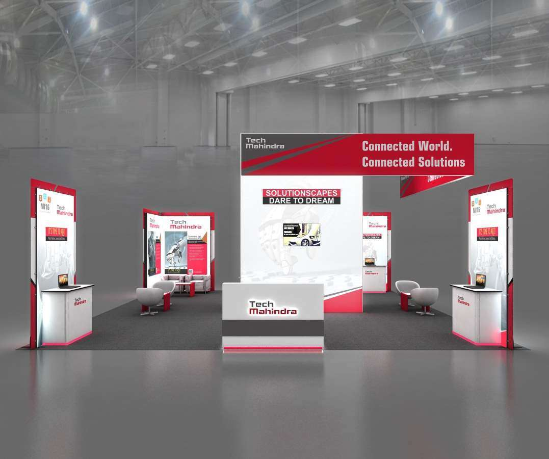 30x30 tradeshow booth