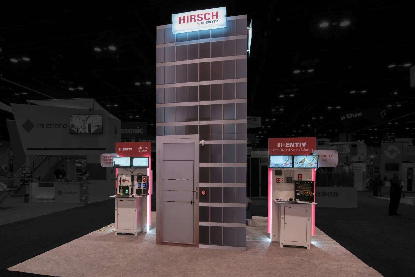 10x20 rental booth for identiv @ ASIS Show, Orlando