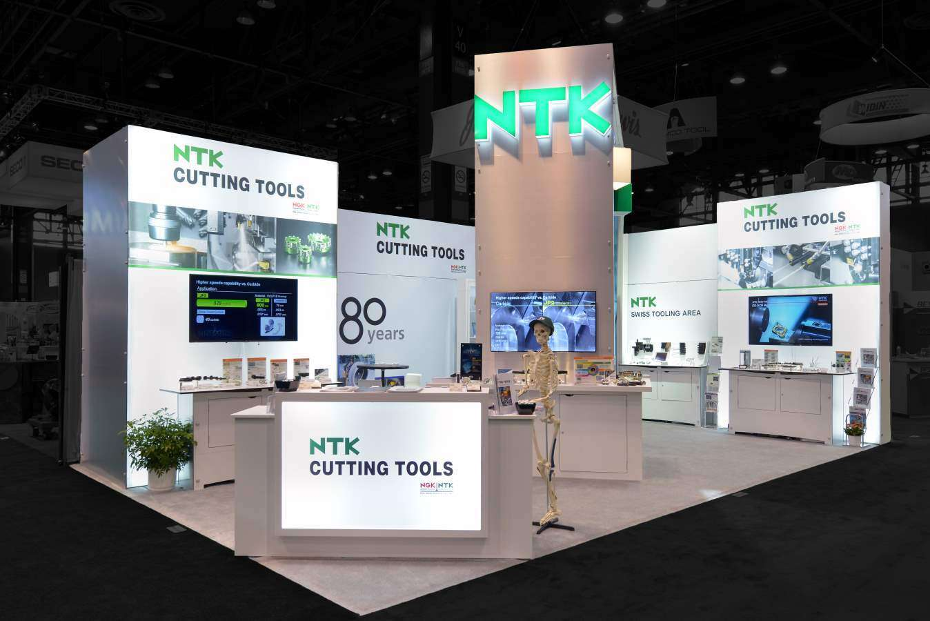 20x30 trade show rental booth imts chicago - Booth Design Ideas