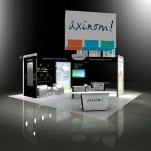 30x30 exhibition stand at APEX show