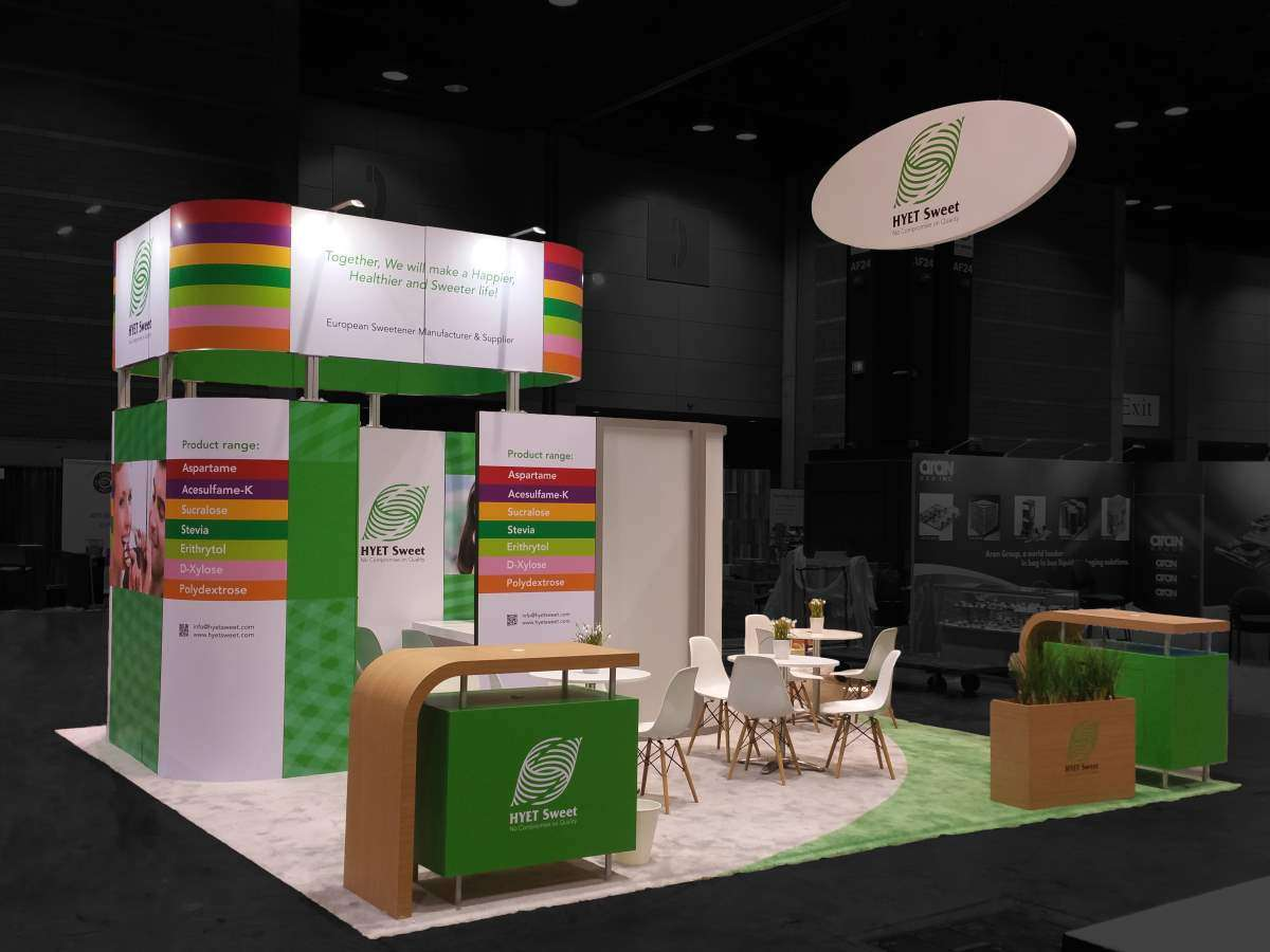 20x20 rental booth @ IFT Chicago