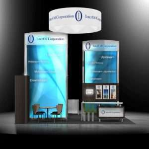 20x20 exhibit rental booth