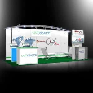 10x20 trade show exhibit design