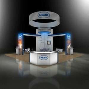 30x30 exhibition stand design