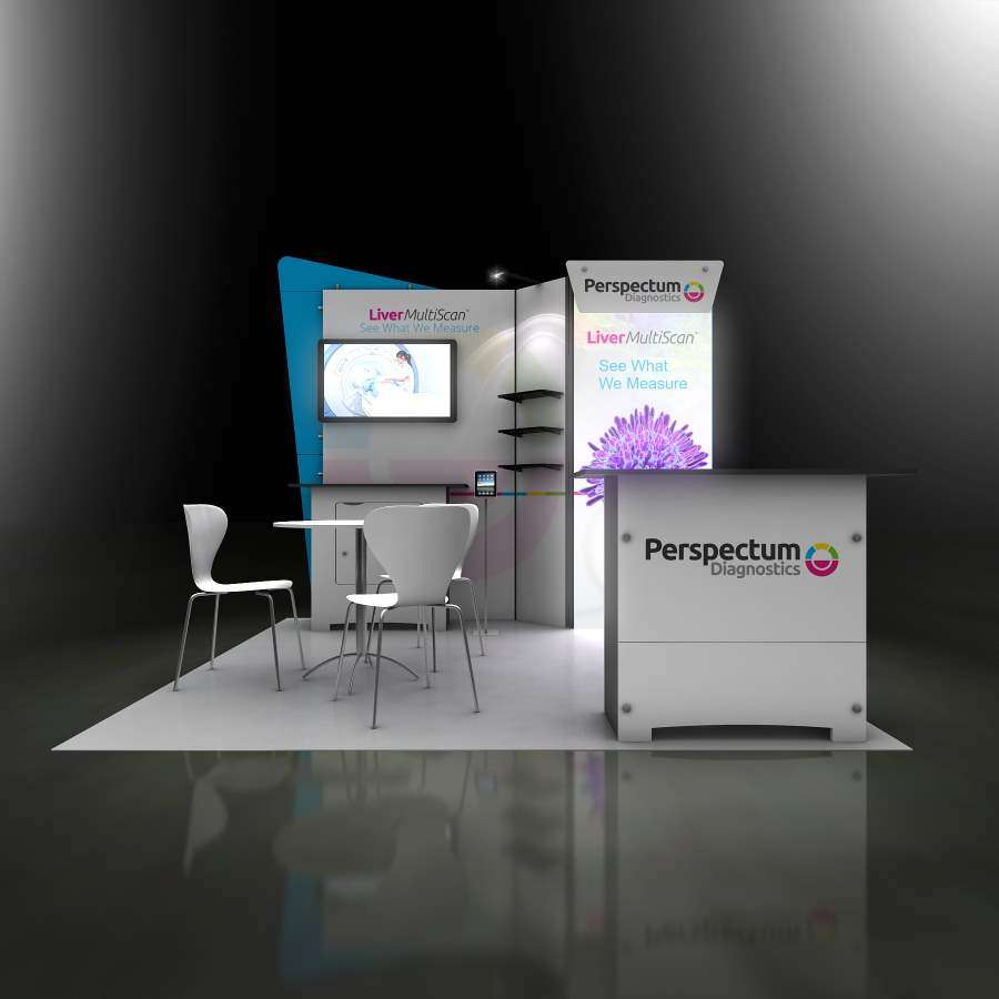 10x10 rental booth